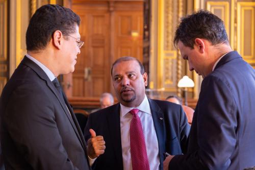 Jean-Paul Carteron Cercle des Ambassadeurs à Paris
